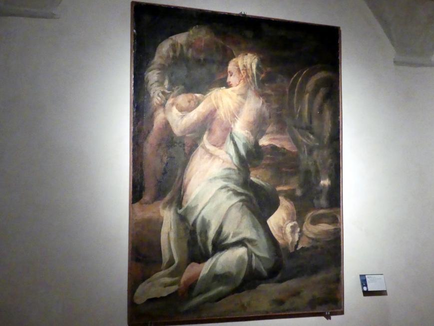 Orazio Alfani (Orazio di Domenico): Ruhe auf der Flucht, um 1550 - 1555