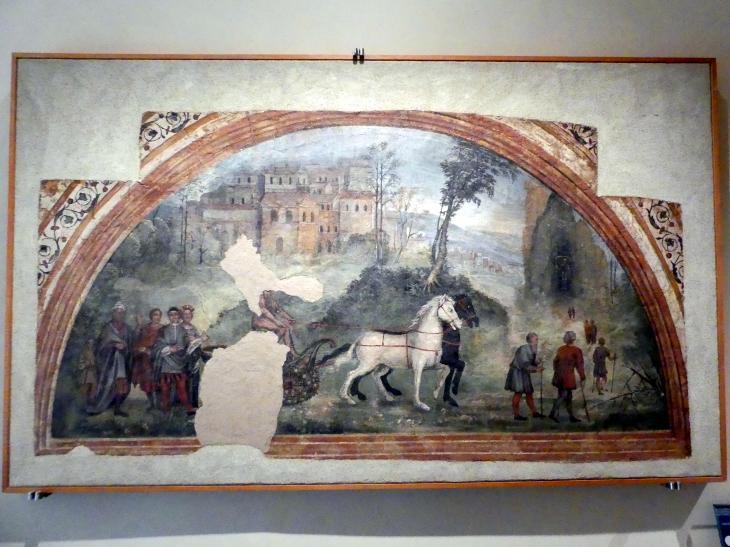 Giovan Battista Caporali: Allegorie der Zeit, um 1535, Bild 1/2