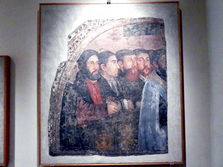 Giovan Battista Caporali: Gruppe von Jurastudenten, um 1535