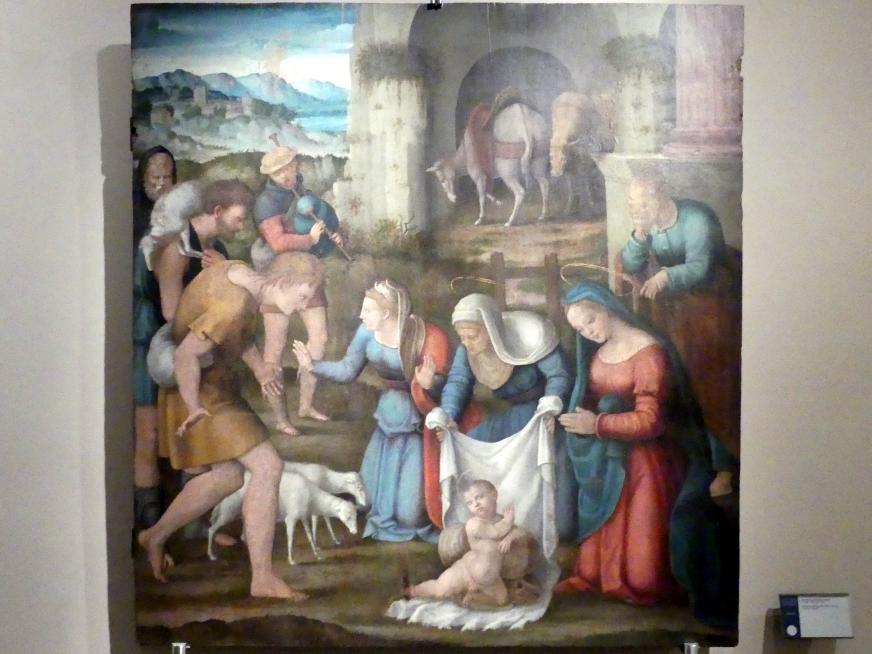 Domenico Alfani (Domenico di Paride Alfani): Anbetung der Hirten, um 1530 - 1540