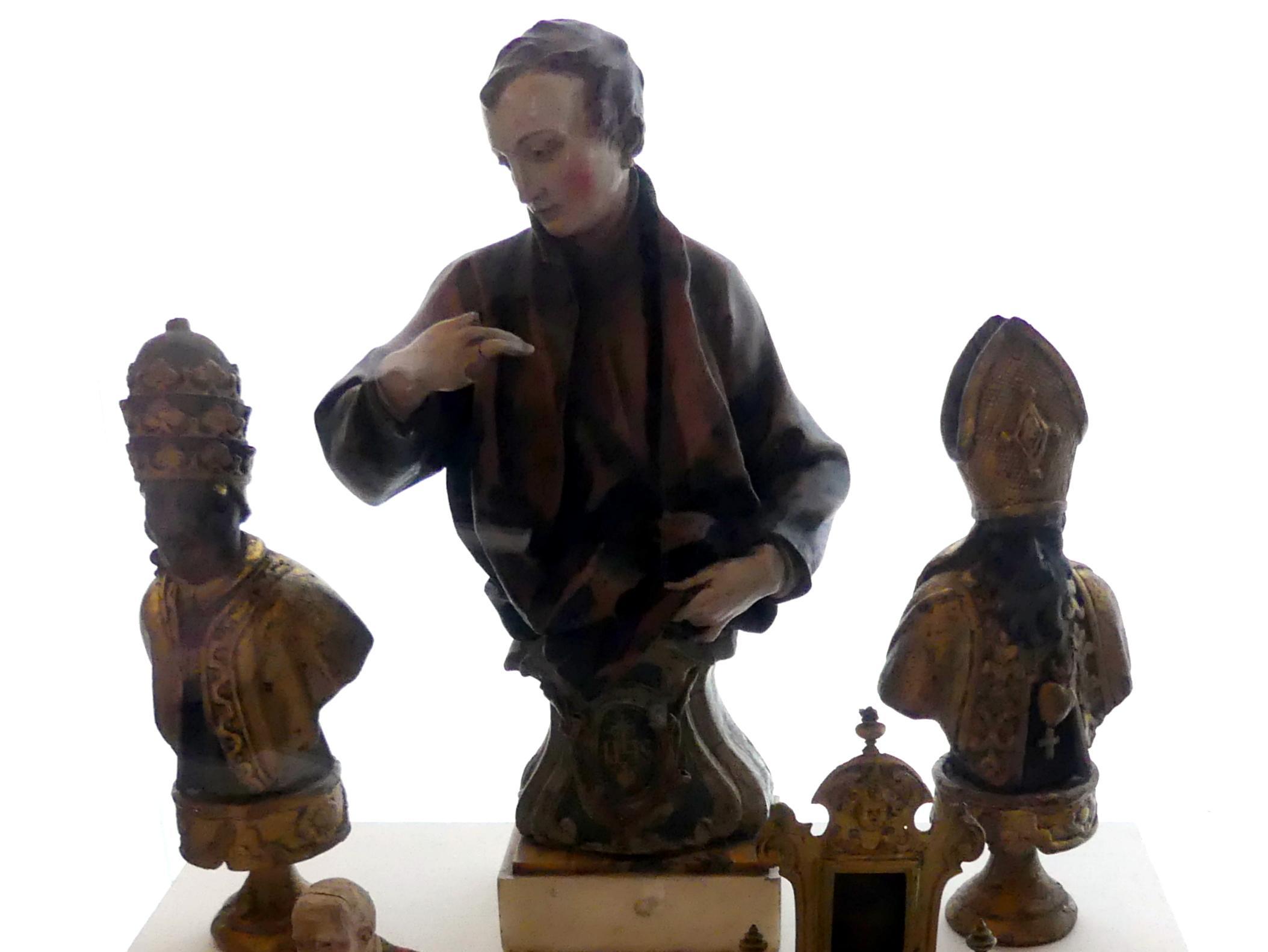 Pierre Le Gros der Jüngere: Modell für eine Halbfigur des hl. Stanislaus Kostka, Undatiert