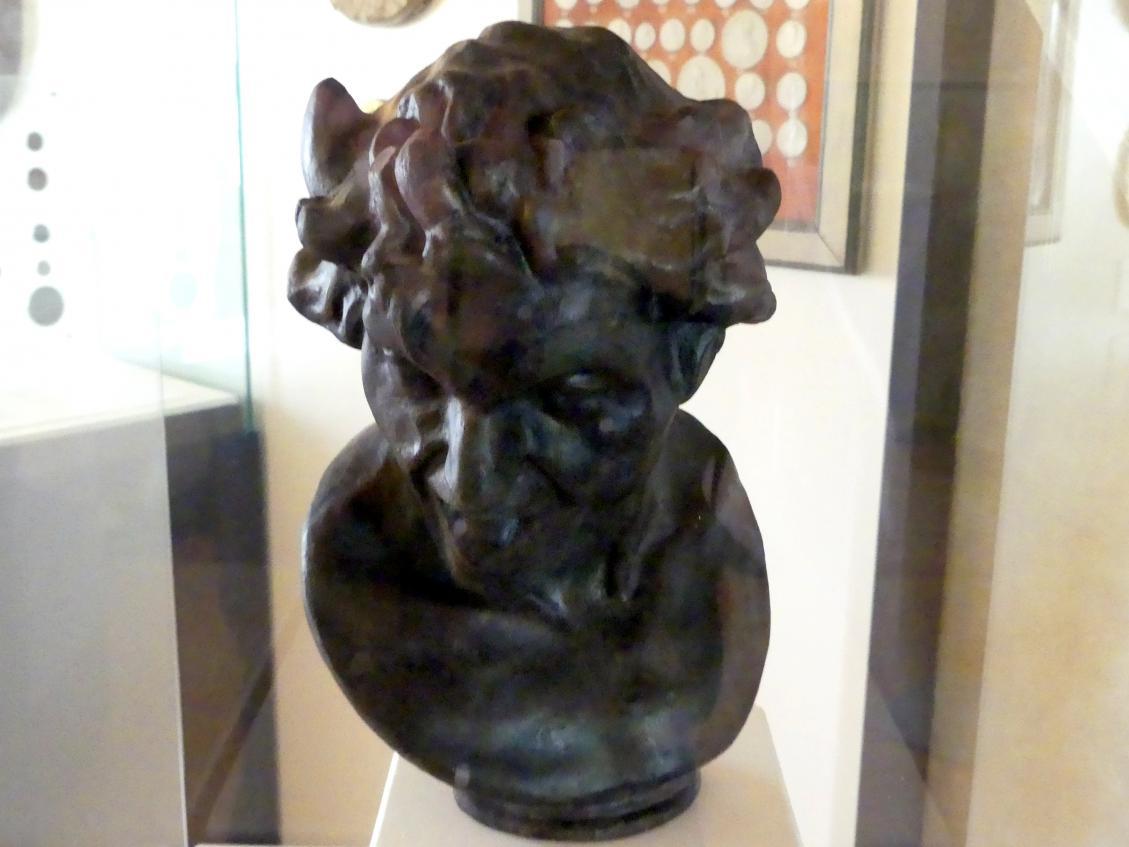 "Gian Lorenzo Bernini: Modell zu einer ""Verdammten Seele"", Undatiert"