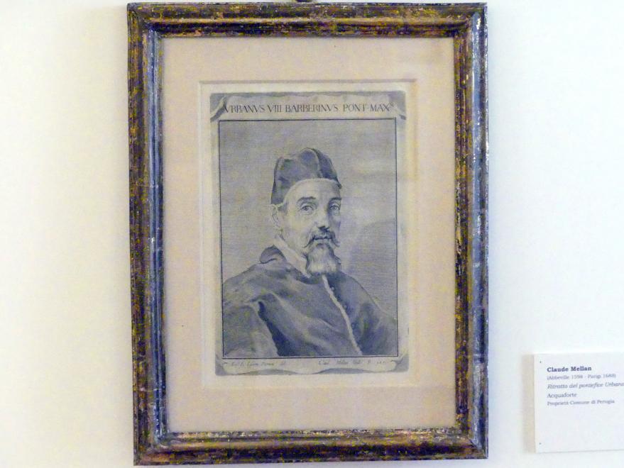 Claude Mellan: Porträt von Papst Urban VIII., Undatiert