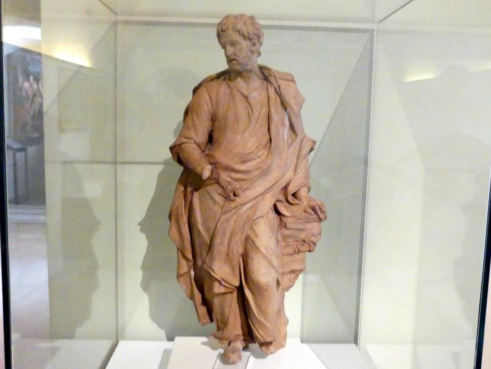 Pierre-Étienne Monnot: Modell für eine Heiligenstatue (Evangelist Johannes ?), Undatiert