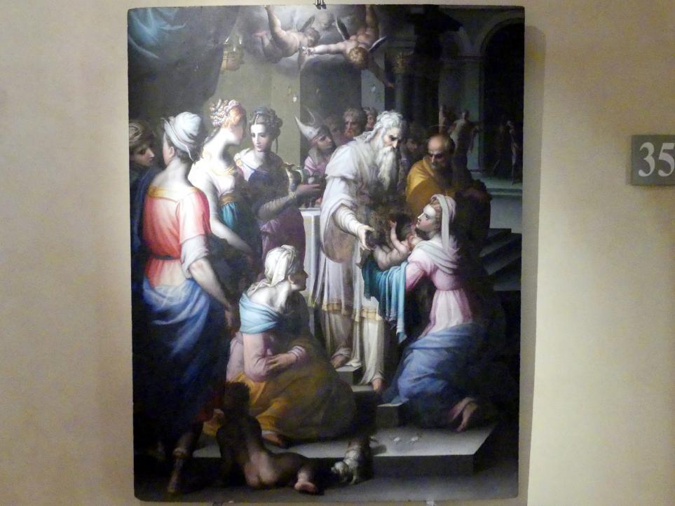 Giovanni Battista Naldini: Darstellung des Herrn, nach 1580, Bild 1/2