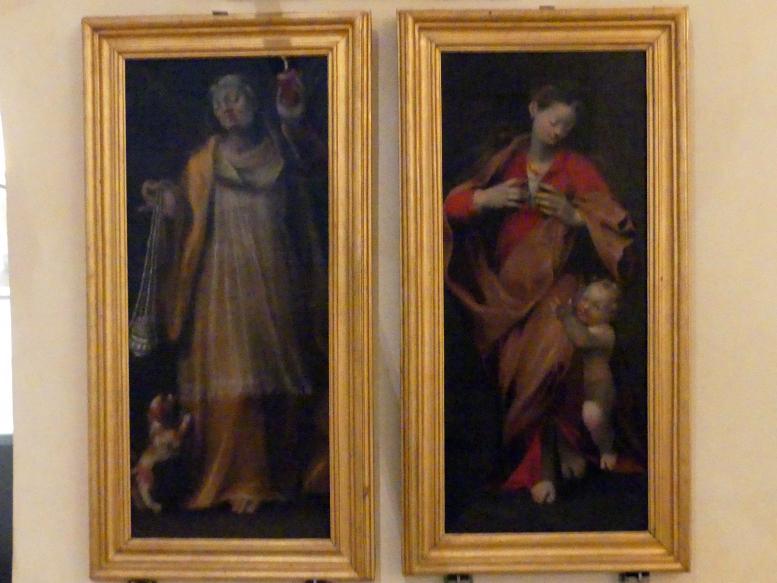 Simeone Ciburri: Hoffnung und Barmherzigkeit, um 1590 - 1600