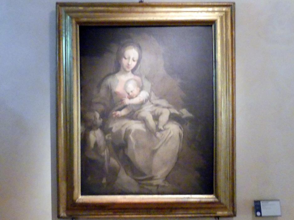 Ventura Salimbeni: Maria und Kind mit dem Johannesknaben, um 1606 - 1608