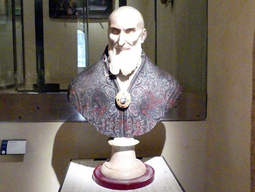 Leonardo Sormani: Büste Papst Pius V., um 1589