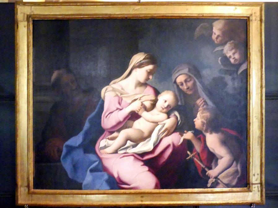 Giovanni Domenico Cerrini: Heilige Familie mit dem Johannesknaben und seiner Mutter Elisabeth, um 1660 - 1665