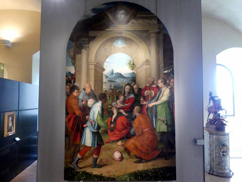 Domenico Alfani (Domenico di Paride Alfani): Anbetung der Könige, um 1544 - 1545