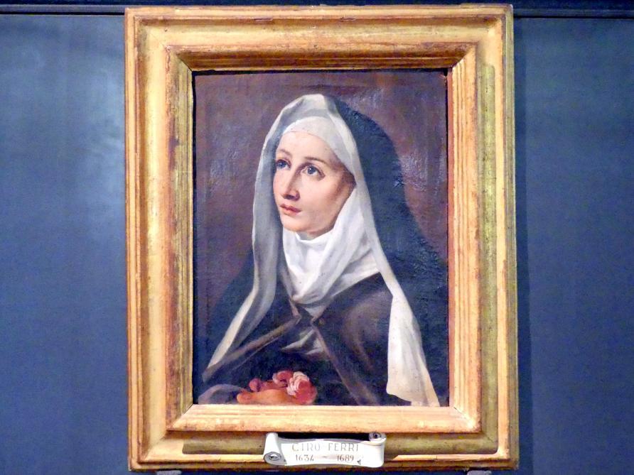 Ciro Ferri: Heilige Rosa von Viterbo, um 1660 - 1670