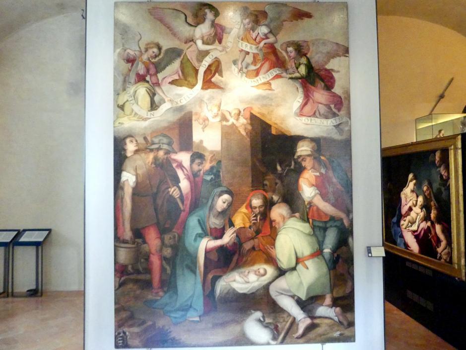 Marcello Venusti: Anbetung der Hirten, um 1573 - 1575
