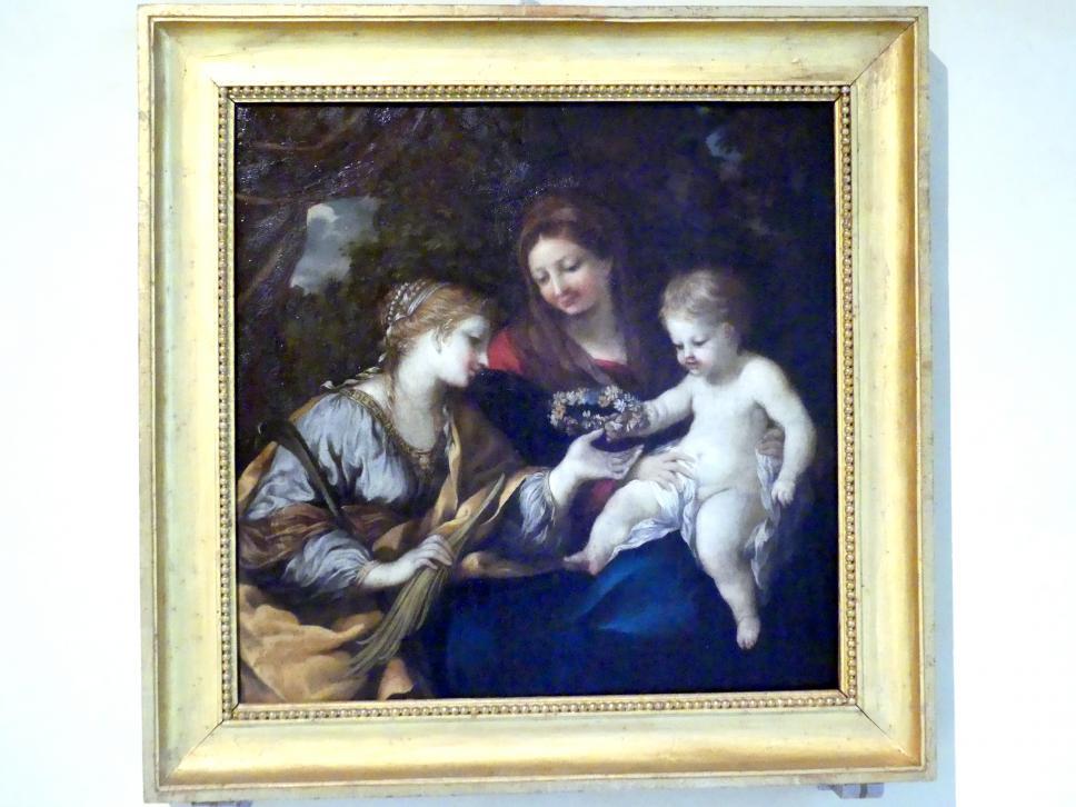 Pietro da Cortona: Maria mit Kind und der hl. Martina, 1645