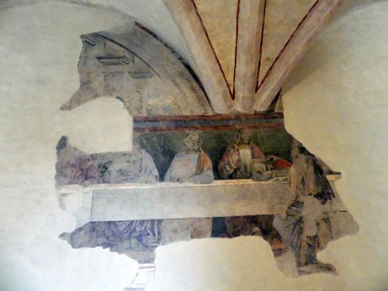 Giannicola di Paolo (Smicca): Das letzte Abendmahl, 1493