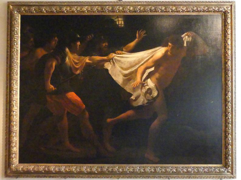 Justus Sustermans (Giusto Sustermans): Flucht eines nackten jungen Mannes während der Gefangennahme Christi, 1615 - 1625