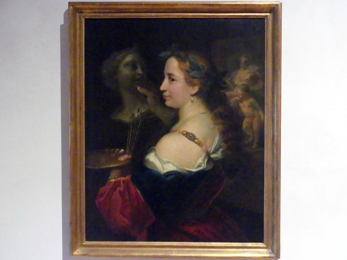 Johann Kupetzky: Allegorie der Malerei, um 1716