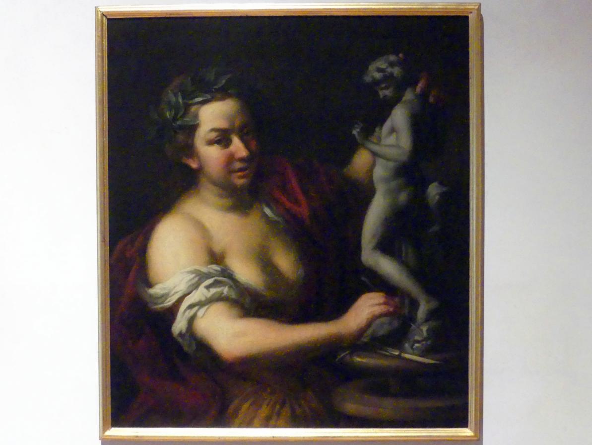 Peter Johann Brandl: Allegorie der Skulptur, um 1716