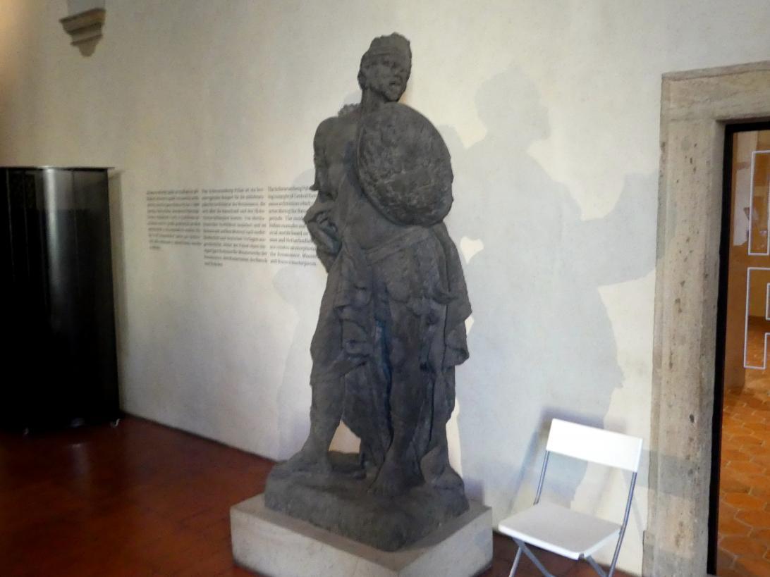 Ferdinand Maximilian Brokoff: Schildhaltender Mohr, 1718 - 1719