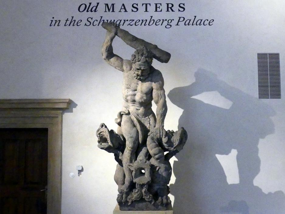 Ferdinand Maximilian Brokoff: Herkules mit Kerberus, Undatiert