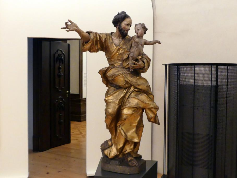 Franz Anton Kuen: Hl. Joseph mit dem Jesuskind, um 1713 - 1714