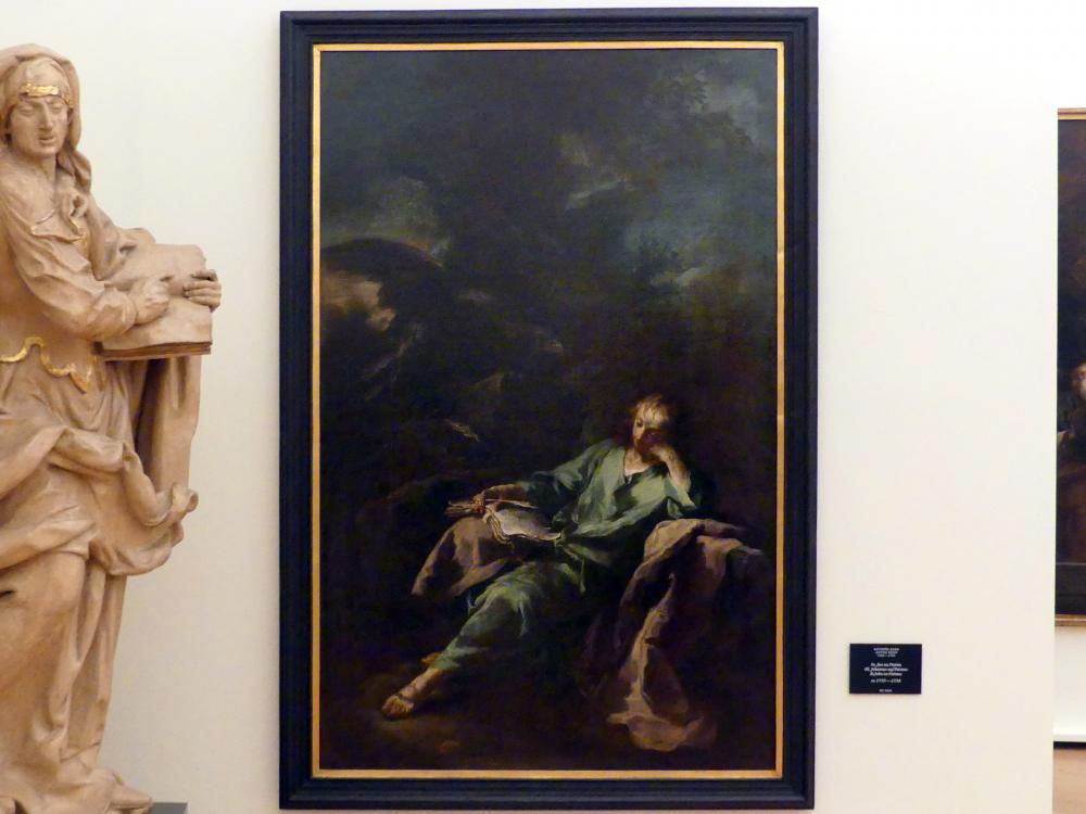 Anton Kern: Hl. Johannes auf Patmos, um 1735 - 1738