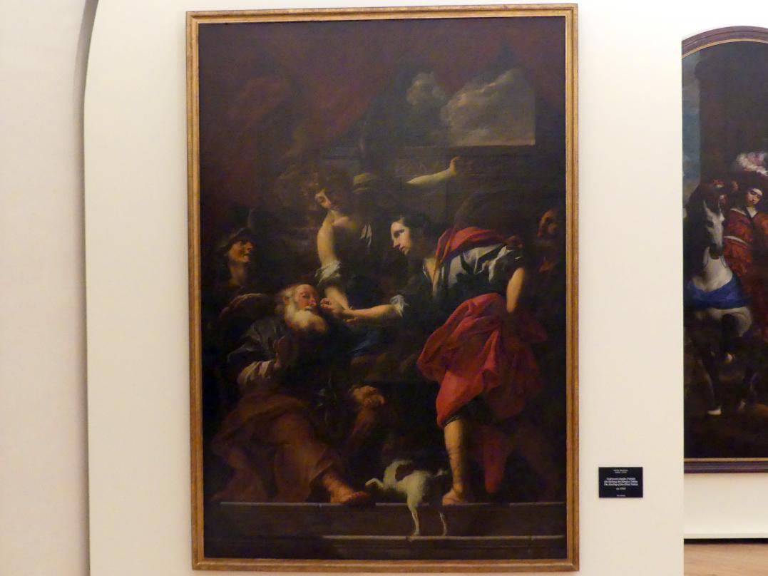Peter Johann Brandl: Die Heilung des blinden Tobias, um 1705