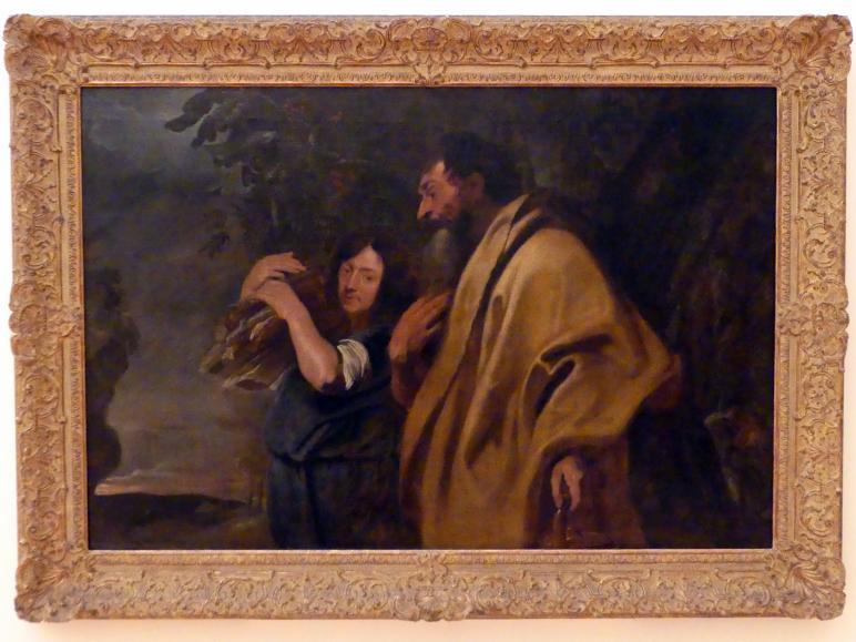 Anthonis (Anton) van Dyck: Abraham und Isaak auf dem Weg zur Opferung, vor 1620