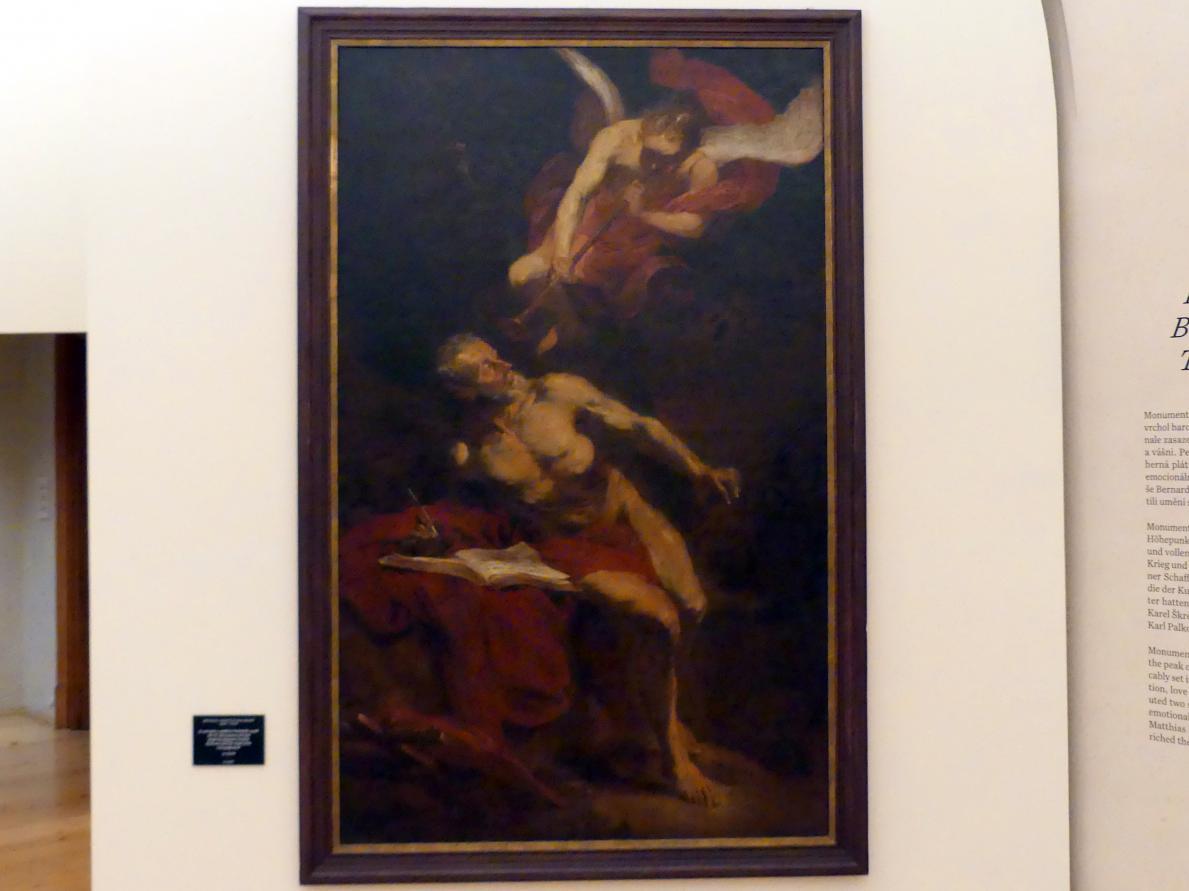 Michael Willmann: Der hl. Hieronymus mit dem Engel des Jüngsten Gerichts, um 1664