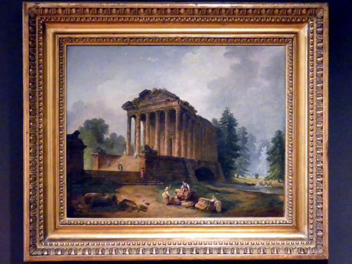 Hubert Robert: Antiker Tempel, 1783