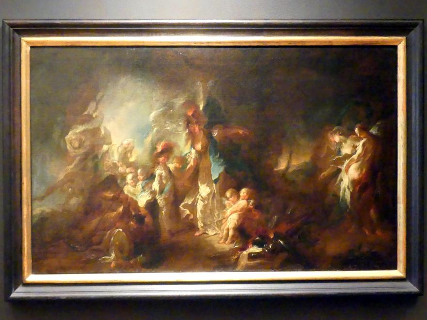 Franz Anton Maulbertsch: Allegorie auf die Erziehung eines Adeligen, vor 1755