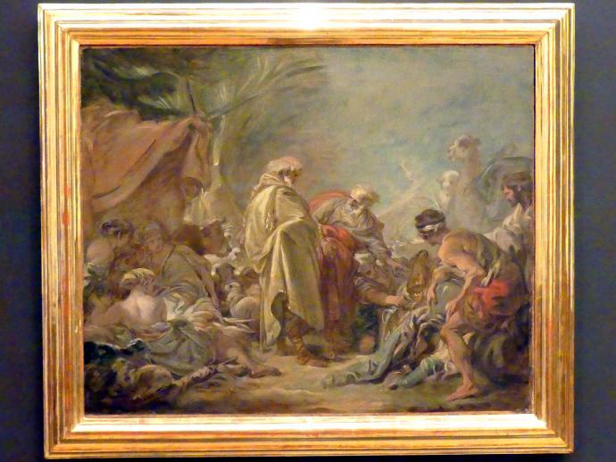 François Boucher: Laban sucht seine Götzenbilder, nach 1760