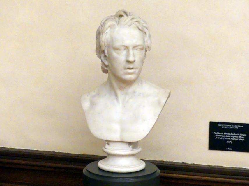 Christopher Hewetson: Bildnis des Anton Raphael Mengs, 1779