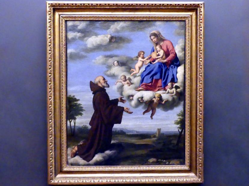Giovanni Battista Salvi (Sassoferrato): Die Madonna erscheint dem hl. Franziskus, Undatiert