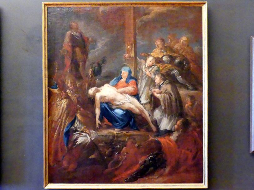 Johann Christoph Lischka: Pietà mit den böhmischen Landespatronen, Undatiert