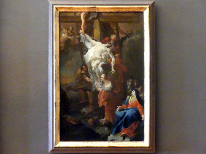 Johann Baptist Wenzel Bergl: Die Kreuzabnahme, nach 1750