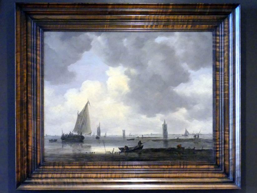 Jan van Goyen: Wachttürme in der Flussmündung, Undatiert