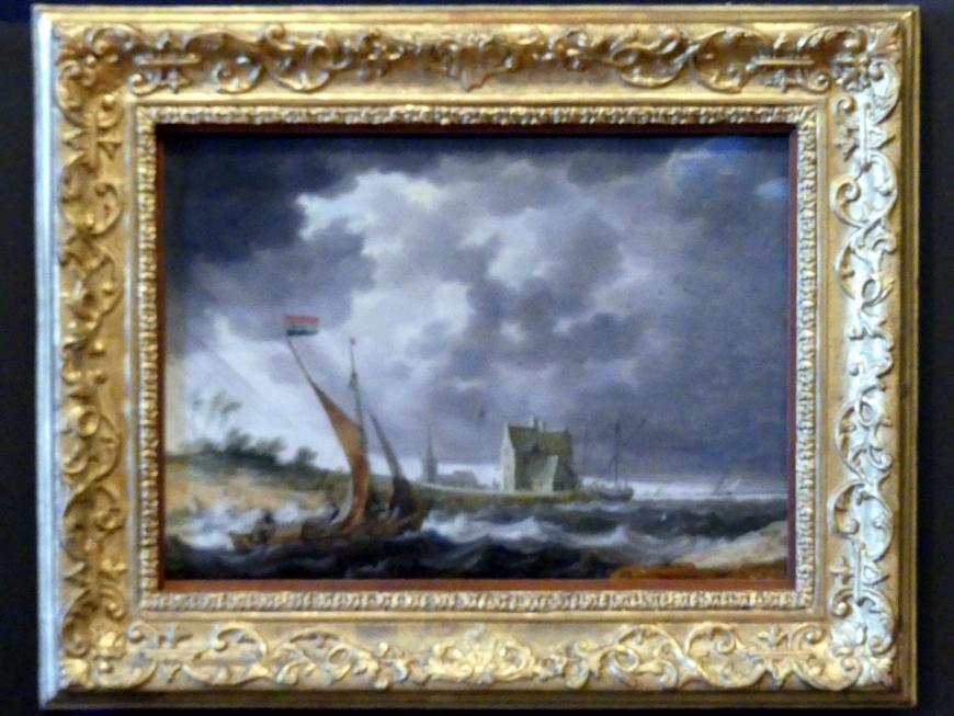 Bonaventura Peeters: Barke am Ufer, Undatiert