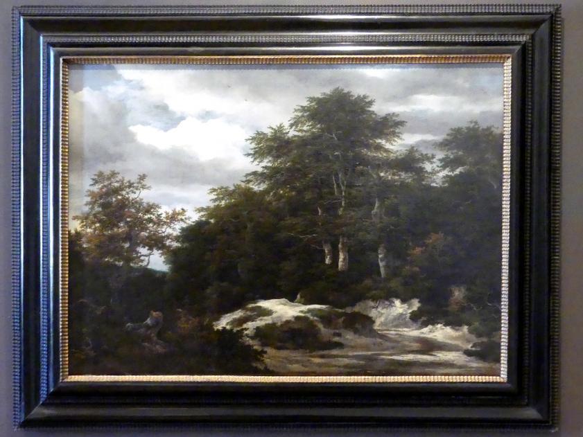 Jacob van Ruisdael: Waldlandschaft mit Bach, Undatiert
