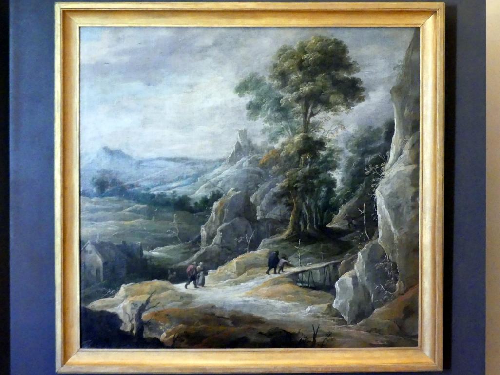 David Teniers der Jüngere: Felslandschaft mit Wanderern, Undatiert