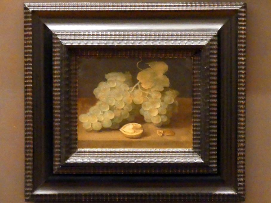 Jacob Foppens van Es: Stillleben mit Weintrauben und Walnuss, Undatiert