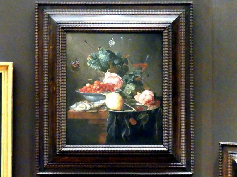 Jan Davidsz. de Heem: Stillleben mit Früchten, Blumen und Austern, 1652