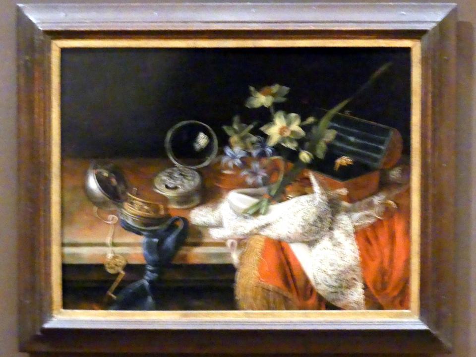 Johann Adalbert Angermayer: Stillleben mit Taschenuhren, 1708