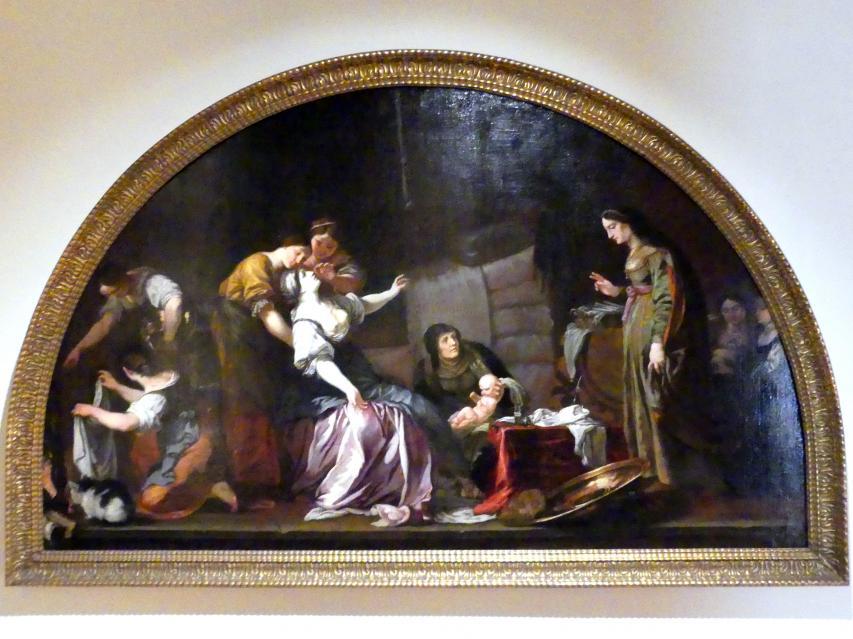 Karel Škréta: Die Geburt des hl. Wenzel, 1640