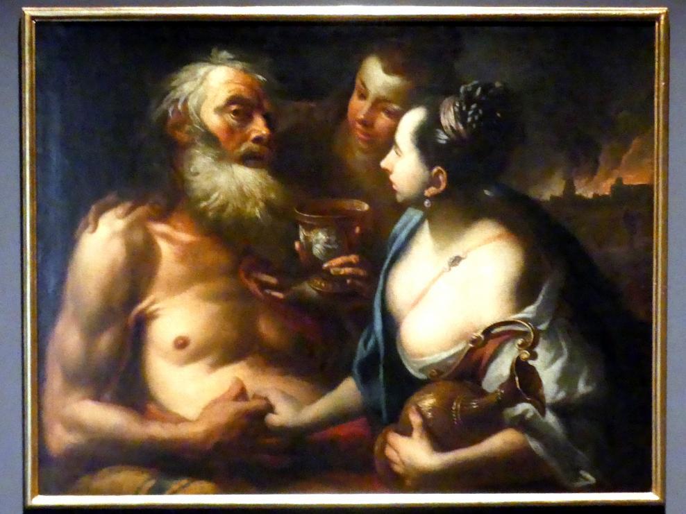 Peter Johann Brandl: Lot und seine Töchter, nach 1700