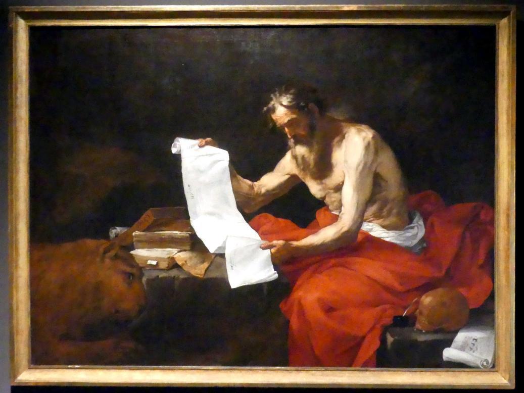 Jusepe de Ribera: Hl. Hieronymus, Undatiert