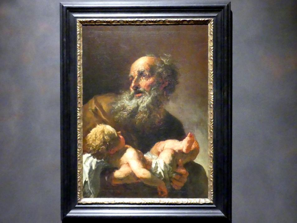 Peter Johann Brandl: Simeon mit dem Jesuskind, nach 1725