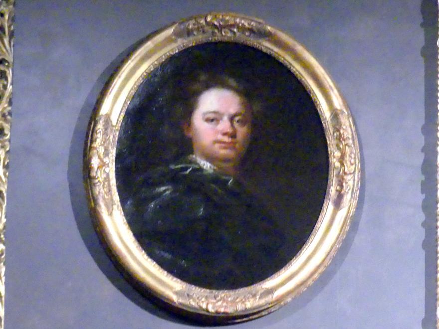 Wenzel Lorenz Reiner: Selbstbildnis, um 1725