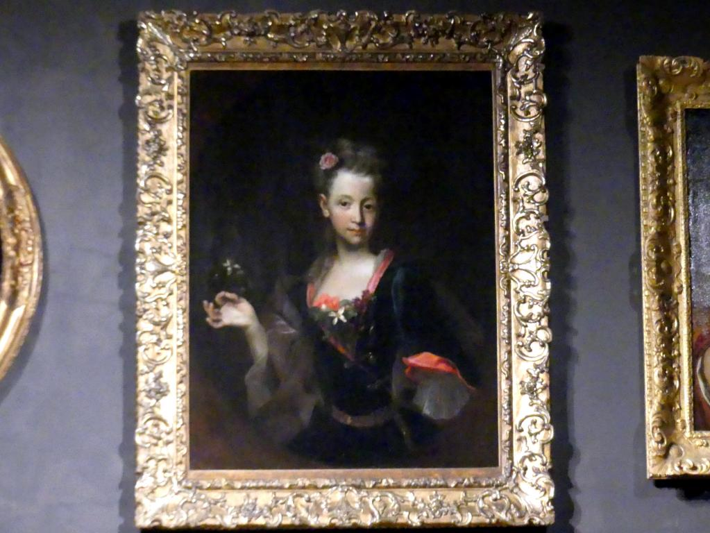 Johann Kupetzky: Bildnis der Hedwig Franziska Wussin, 1716