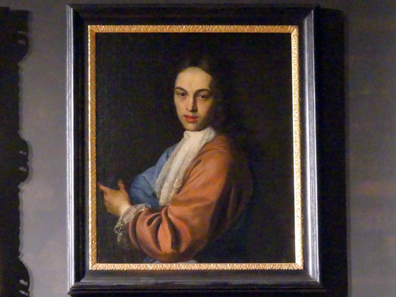 Johann Kupetzky: Bildnis des Michael Kreisinger von Eckersfeld als junger Mann, 1700