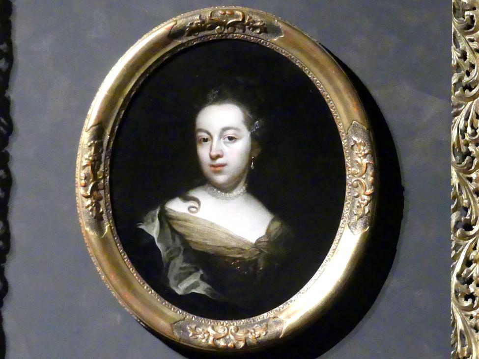Wenzel Lorenz Reiner: Bildnis der Künstlergattin Anna Veronica, geb. Hertzog, um 1725